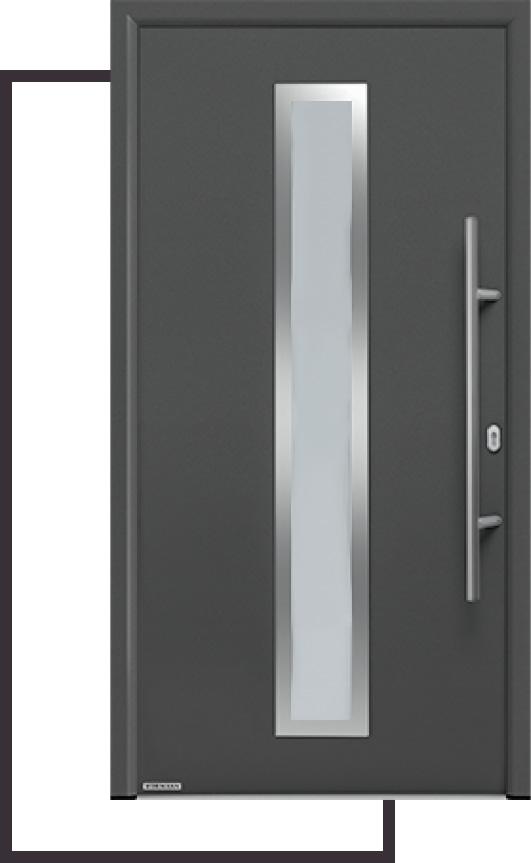 Ocelové domovní dveře